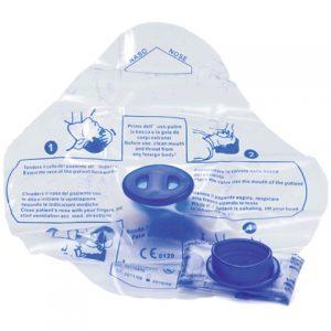 Maschera monouso per respirazione bocca a bocca-0
