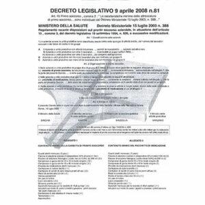 Copia Decreto Min 388 del 15.07.03