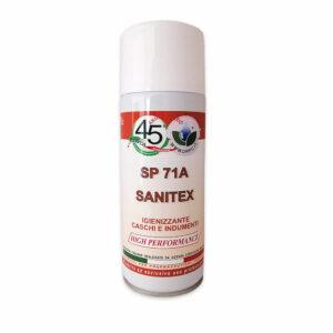 Spray sanificante Abiti Caschi e Scarpe