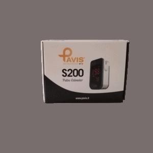 pulsossimetro da dito scatola